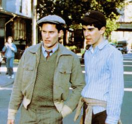 BRIGHTON BEACH MEMOIRS, from left: Brian Drillinger, Jonathan Silverman, 1986, © Universal